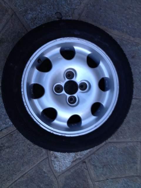 4 Cerchi gommati Peugeot
