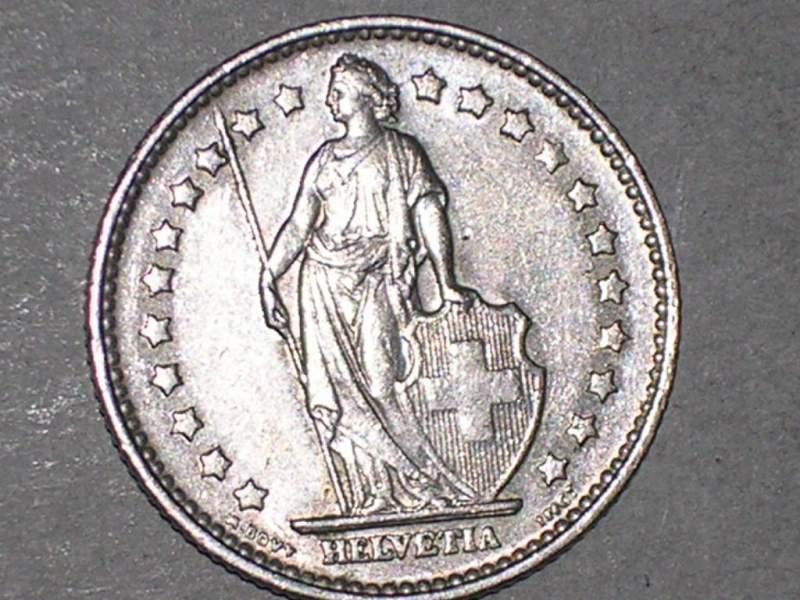 1 franco svizzera
