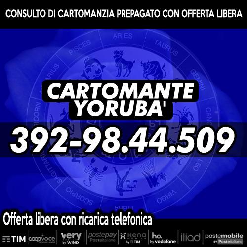 Consulti telefonici - Cartomante Yoruba'