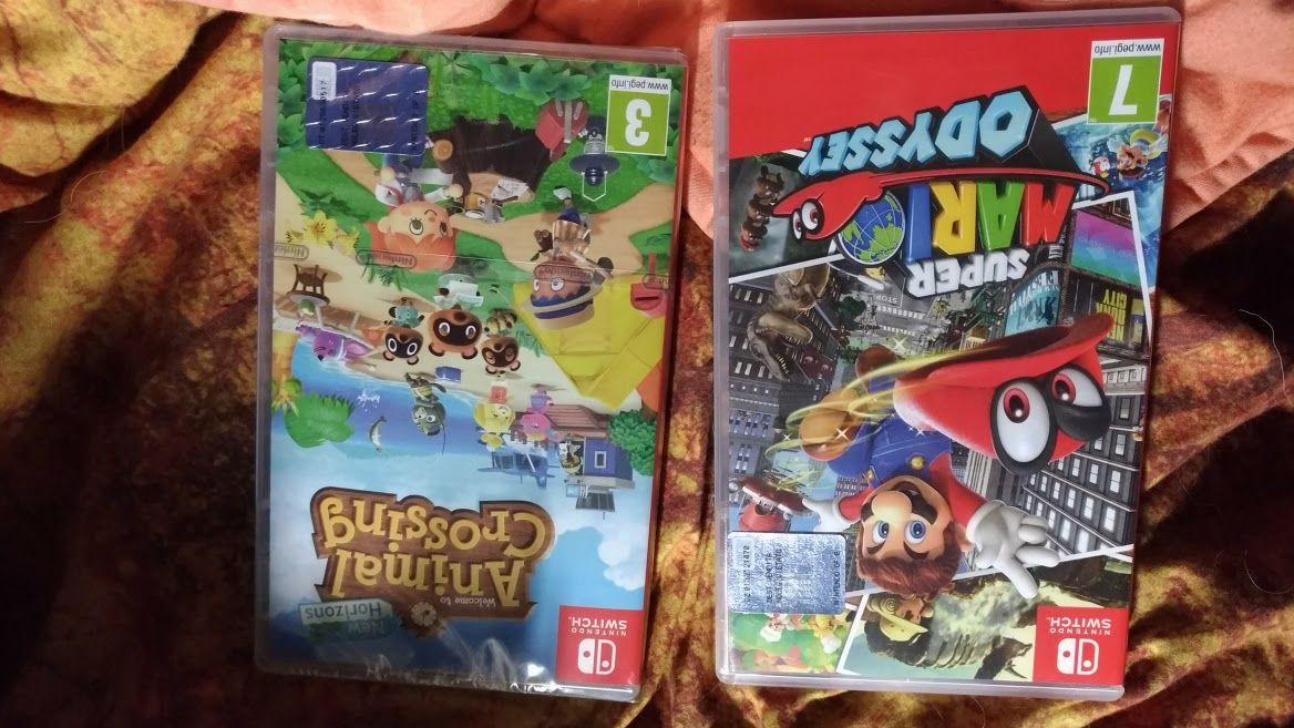 2 videogiochi per nintendo switch