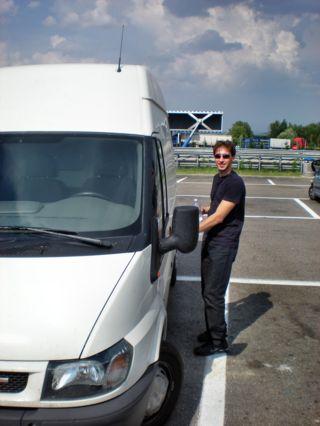 Servizio Autista con Furgone Wolkswagen Crafter