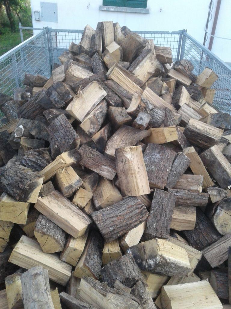 vendo legna da ardere