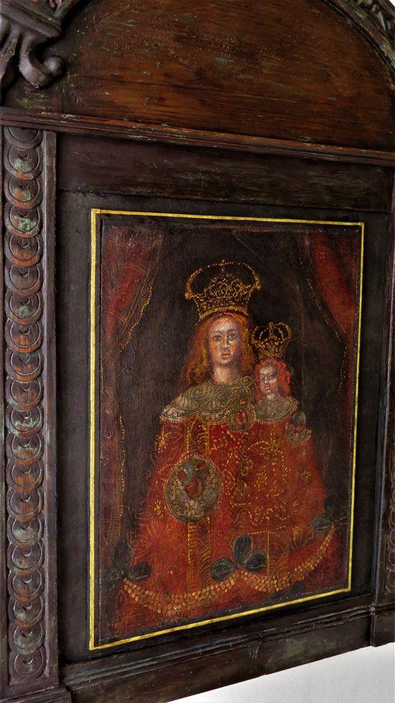 Arte Andina - Madonna con Bambino
