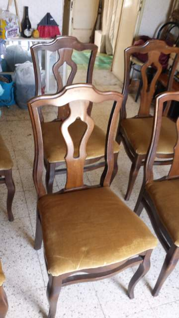 6 sedie antiche