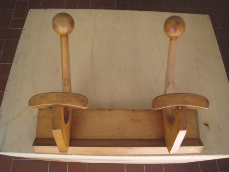 Appendino in legno 2 ganc