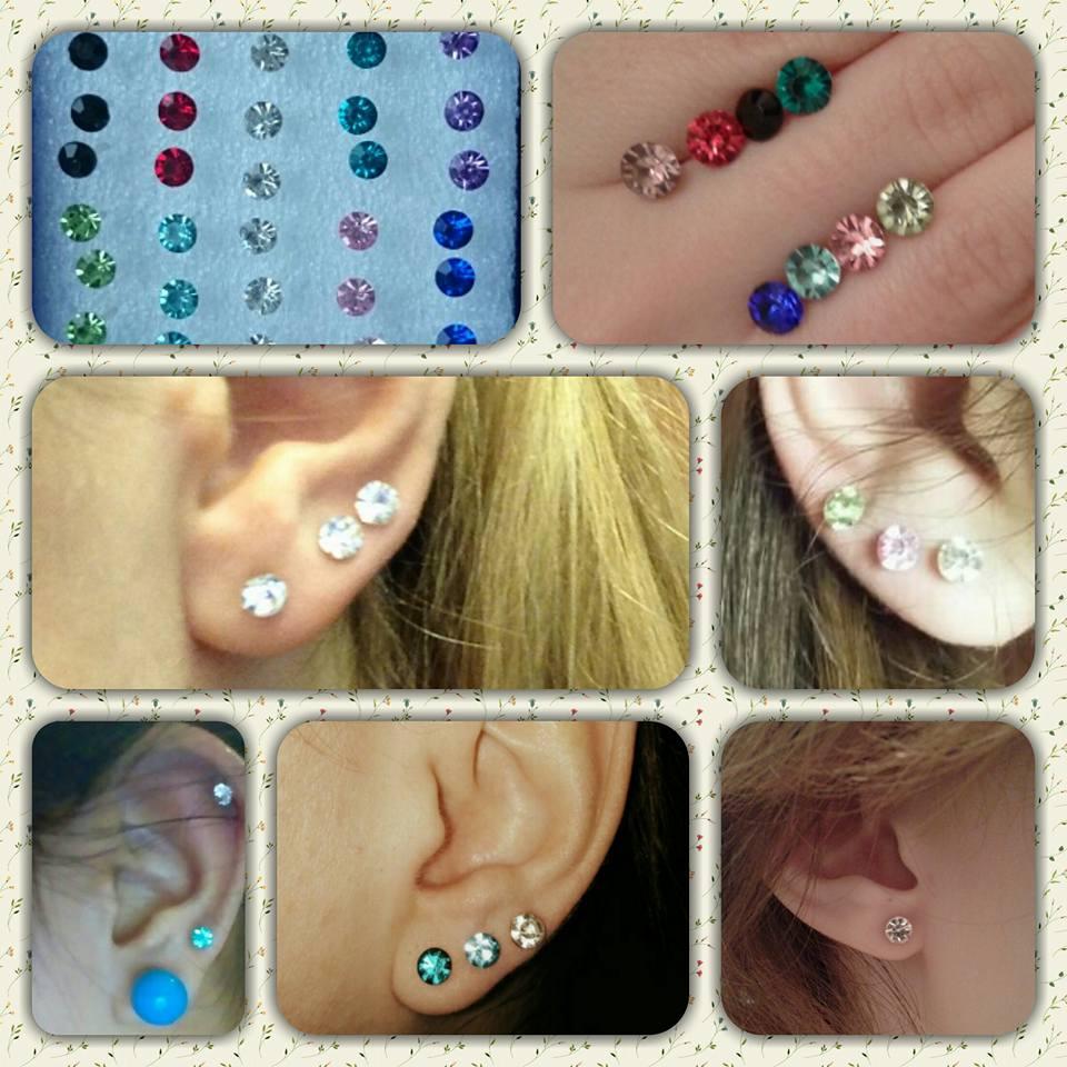 20 paia di orecchini