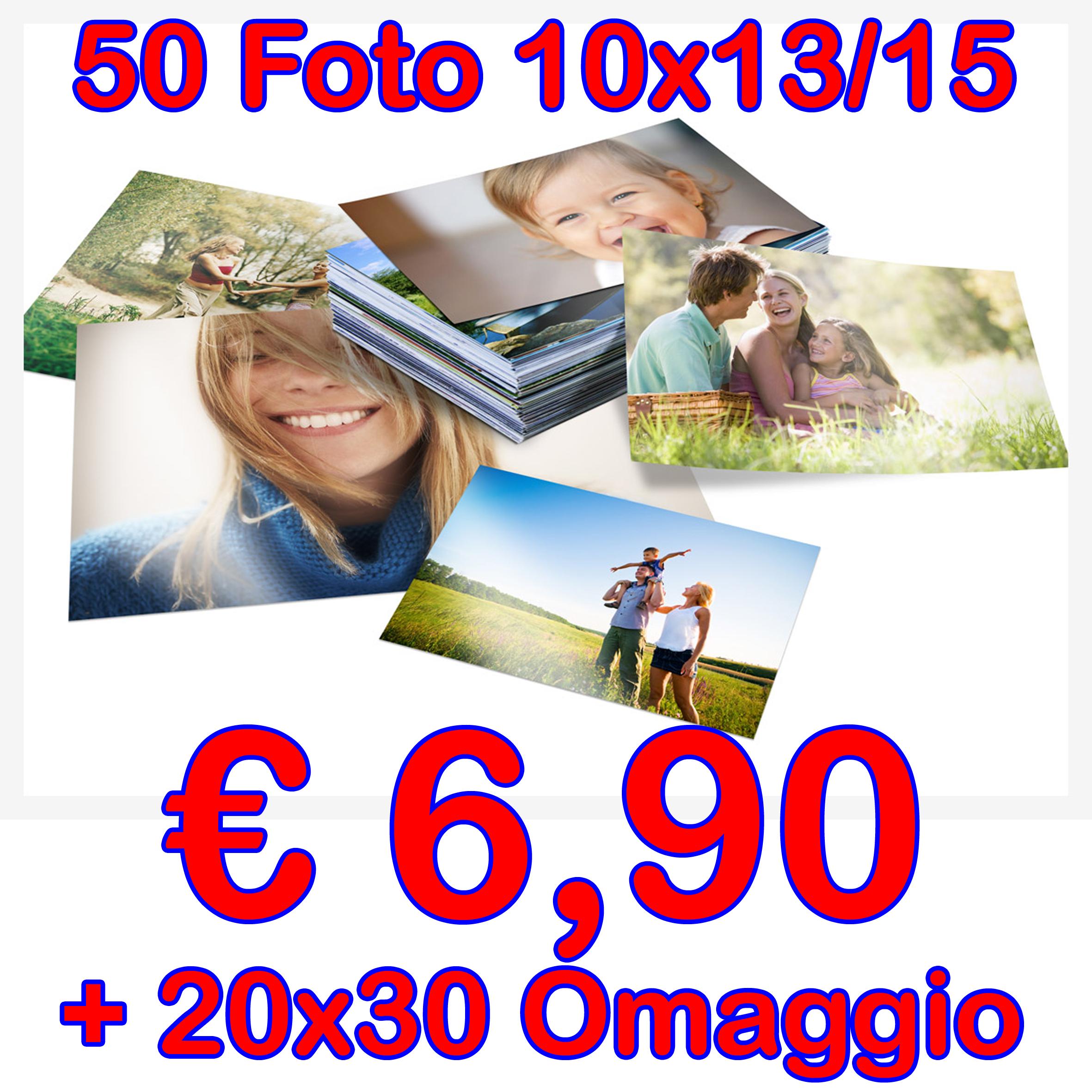 50 Stampe Digitali 10x15